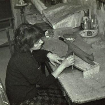 Lot Brandt: mijn ouders waren beide keramist, foto van mijn moeder