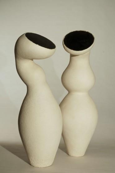 Groei, uit de collectie Zaad, keramiek van Lot Brandt