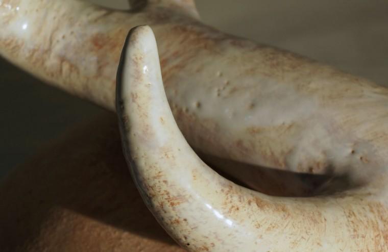 """Zoeker, keramiek van Lot Brandt, uit de collectie """"zaad"""""""