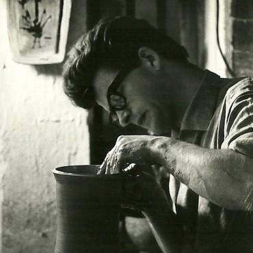 Lot Brandt: mijn ouders waren beide keramist, foto van mijn vader