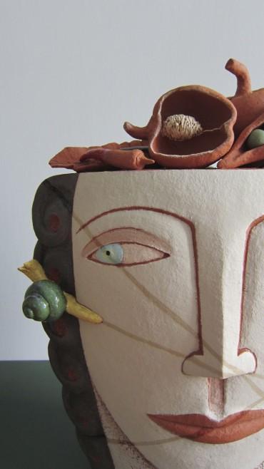 de vegetariër, keramiek van Lot Brandt